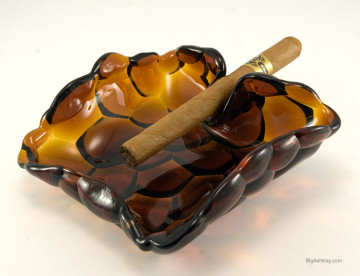 Vintage cigar art ashtrays